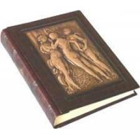 Buy cheap The Three Graces Italian Leather Scrapbook product