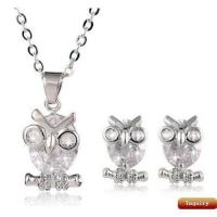 Buy cheap Best selling fashion alloy crystal jewelry sets from wholesalers