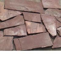 Buy cheap red sandstone random shaped product