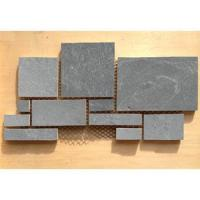 Quality puzzled slate paver mats_grey slate for sale