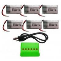 Buy cheap BTG 6PCS 3.7V 680mAh Lipo Battery with product