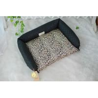 Buy cheap Double use Leopard Print Dog Bed product