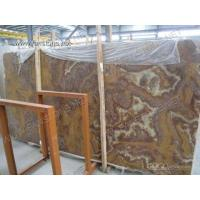 Buy cheap TIGER marble/tiger onyx/red onyx/red marble Blocks and Slabs product