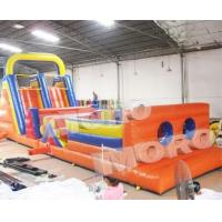 Buy cheap Inflatable Mega Obstacle Rush/Inflatable Obstacle Course 2 part from wholesalers