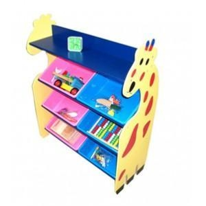 Quality super size giraffe style toy collecting shelf for sale