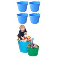 Buy cheap Large Trugs - Blue x4 product