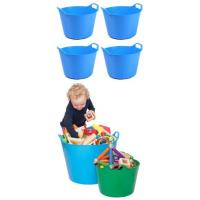 Buy cheap Small Trugs - Blue x4 product