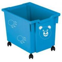 Buy cheap Toy Tidy - castors, blue product