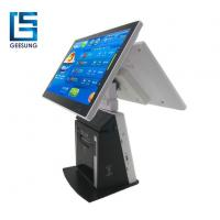 Buy cheap 15 Inch Android Restaurant Pos Dual Screen Printer Built In product