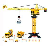 Buy cheap Radio Control Radio control construction tower crane (8ch) with mini trucks and accessaries product