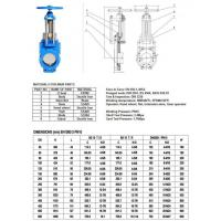 D.I. Knife Gate Valve, with SS304 Knife Disc