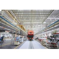 Works vehicle production line