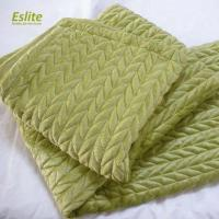 China 100%Polyester Quilted Mink Blanket on sale